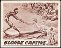 "Movie Posters:Adventure, Blonde Captive (Capital Pictures, 1932). Lobby Card (11"" X 14"")....."
