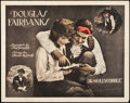 "Movie Posters:Adventure, The Mollycoddle (United Artists, 1920). Half Sheet (22"" X 28"")....."