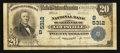 National Bank Notes:Kentucky, Louisville, KY - $20 1902 Plain Back Fr. 659 The NB of Kentucky Ch.# (S)5312. ...