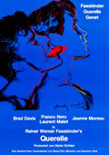 "Movie Posters:Drama, Querelle (Albatros Filmproduktion, 1982). German A1 (23.5"" X 33"").. ..."