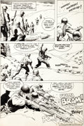 Original Comic Art:Panel Pages, Russ Heath Our Army at War #271 Sgt. Rock Page 4 OriginalArt (DC, 1974). ...