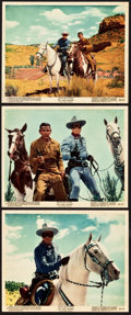 """Movie Posters:Western, The Lone Ranger (Warner Brothers, 1956). Color Photos (6) (8"""" X 10"""").. ... (Total: 6 Items)"""