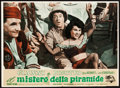 "Movie Posters:Comedy, Abbott and Costello Meet the Mummy (Universal International, 1955).Italian Photobusta Set of 10 (19.5"" X 27').. ... (Total: 10 Items)"