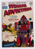 Golden Age (1938-1955):Science Fiction, Strange Adventures #3 (DC, 1950) Condition: GD/VG....