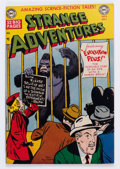 Golden Age (1938-1955):Science Fiction, Strange Adventures #8 (DC, 1951) Condition: VG/FN....