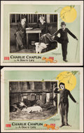 """Movie Posters:Comedy, A Dog's Life (Pathe, R-1920s). Lobby Cards (2) (11"""" X 14"""") & Photos (2) (8"""" X 10"""").. ... (Total: 4 Items)"""