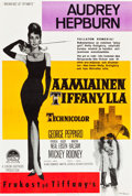 "Movie Posters:Romance, Breakfast at Tiffany's (Paramount, 1961). Finnish Poster (16"" X23.5"").. ..."