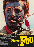 """Movie Posters:Foreign, Pierrot le fou (SNC, 1965). French Petite (16"""" X 23.5"""").. ..."""