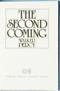 Books:Literature 1900-up, Walker Percy. SIGNED/LIMITED. The Second Coming. New York:Farrar, Straus & Giroux, [1980]. First edition, limited t...