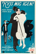 "Movie Posters:Comedy, Kiss Me Again (Warner Brothers, 1925). Swedish One Sheet (23.5"" X35.5"").. ..."