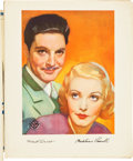 "Movie Posters:Miscellaneous, Gaumont British Exhibitor Books (Gaumont, 1936). Exhibitor Books(4) (Multiple Pages, 6.75"" X 9.75"", 9.5"" X 12.5"" & 12.75"" X...(Total: 4 Items)"
