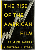 Books:Americana & American History, Lewis Jacobs. The Rise of the American Film. New York:Harcourt Brace, [1939]. Third printing. Jacket rubbed and edg...