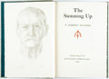 Books:Literature 1900-up, W. Somerset Maugham. SIGNED/LIMITED. The Summing Up. GardenCity: Doubleday, 1954. First edition, limited to 391 num...