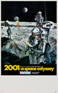 "Movie Posters:Science Fiction, 2001: A Space Odyssey (MGM, 1968). Midget Window Card (9"" X14.5"").. ..."