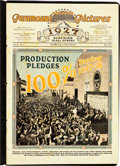 """Movie Posters:Miscellaneous, Paramount Exhibitor Book (Paramount, 1927). Exhibitor's Book (32 Pages, 11"""" X 15.75"""") """"Honor Roll Anniversary."""". ..."""