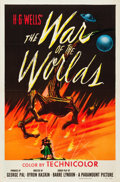 "Movie Posters:Science Fiction, The War of the Worlds (Paramount, 1953). One Sheet (27"" X 41"").. ..."