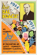 "Movie Posters:Comedy, Hail Hal Roach! (MGM, 1934). One Sheet (27.25"" X 41"").. ..."