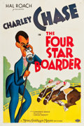 "Movie Posters:Comedy, The Four Star Boarder (MGM, 1935). One Sheet (27.25"" X 41"").. ..."