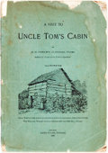 Books:Americana & American History, [Uncle Tom's Cabin]. D.B. Corley. A Visit to Uncle Tom's Cabin. Chicago: Laird & Lee, 1893. No stated edition. Twelv...