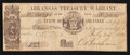 Obsoletes By State:Arkansas, (Little Rock), AR- The State of Arkansas $1.40 July 25, 1862 Cr. 26B. ...