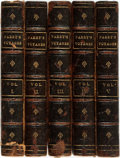 Books:Travels & Voyages, W.E. Parry. Three Voyages for the Discovery of a North-WestPassage from the Atlantic to the Pacific, and Narrativ...(Total: 5 Items)
