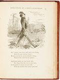 Books:Literature Pre-1900, Oliver Wendell Holmes. Humorous Poems. Boston: Ticknor and Fields, 1865. First edition. Eighteenmo. Publisher's clot...