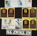 Autographs:Post Cards, Baseball Legends Signed Postcards, Etc Lot Of 13....