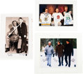 Hockey Collectibles:Others, Circa 2000 Wayne Gretzky, Gordie Howe, Mario Lemieux, Bobby Orr, Ted Williams & Larry Bird Signed Lithographs Lot of 3....