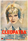 "Movie Posters:Drama, Cleopatra (Paramount, 1934). German Poster (37.75"" X 54.25"").. ..."