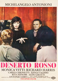 "Movie Posters:Foreign, The Red Desert (Cineriz, 1964). Italian 2 - Foglio (39.25"" X 55"")....."