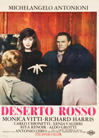 "The Red Desert (Cineriz, 1964). Italian 2 - Foglio (39.25"" X 55"")"