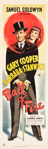 "Movie Posters:Comedy, Ball of Fire (RKO, 1941). British Door Panel (19.5"" X 60"").. ..."
