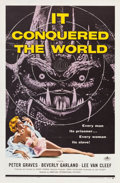 """Movie Posters:Science Fiction, It Conquered the World (American International, 1956). One Sheet(27"""" X 41"""").. ..."""