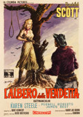 "Movie Posters:Western, Ride Lonesome (Columbia, 1959). First Release Italian 2 - Foglio (39"" X 55""). Western.. ..."