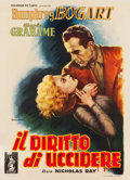 "Movie Posters:Film Noir, In a Lonely Place (Columbia, 1951). Italian 2 - Foglio (39.25"" X54.25"").. ..."