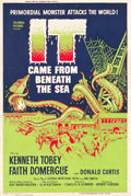 "Movie Posters:Science Fiction, It Came from Beneath the Sea (Columbia, 1955). Silk-Screen Poster(40"" X 60"").. ..."