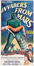 "Movie Posters:Science Fiction, Invaders from Mars (20th Century Fox, 1953). Three Sheet (40.75"" X79"").. ..."