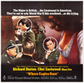 "Movie Posters:War, Where Eagles Dare (MGM, 1968). Six Sheet (80.5"" X 81"").. ..."