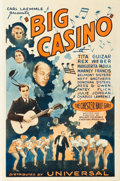 "Movie Posters:Musical, Big Casino (Universal, 1933). One Sheet (27"" X 41"").. ..."