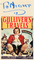"Movie Posters:Animation, Gulliver's Travels (Paramount, 1939). Midget Window Card (8"" X14""). Animation.. ..."