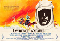 """Lawrence of Arabia (Columbia, 1962). French Double Grande (63"""" X 91"""")"""