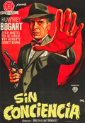 "Movie Posters:Film Noir, The Enforcer (Warner Brothers, 1951). Full-Bleed Spanish One Sheet(26.5"" X 38.5"").. ..."