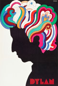 "Movie Posters:Rock and Roll, Bob Dylan by Milton Glaser (1966). Full-Bleed Poster (22"" X 33"")....."