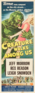 "Movie Posters:Horror, The Creature Walks Among Us (Universal International, 1956). Insert(14"" X 36"").. ..."