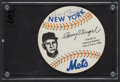 Baseball Collectibles:Others, Casey Stengel Signed Promotional Card....