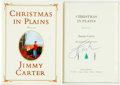 Books:Biography & Memoir, Jimmy Carter. SIGNED. Christmas in Plains. New York: Simon and Schuster, [2001]. First edition. Signed by the auth...