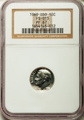 Proof Roosevelt Dimes, 1960 10C Doubled Die Obverse,FS-015 PR67 NGC. (FS-015). PCGSPopulation (5/1)....