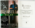 Books:Non-fiction, Bill Russell with David Falkner. INSCRIBED. Russell Rules. 11Lessons on Leadership from the Twentieth Century's Greates...