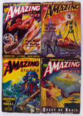 Pulps:Science Fiction, Assorted Science Fiction Pulps Box Lot (Various Publishers,1940-50) Condition: Average GD....