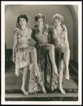 "Movie Posters:Drama, Dorothy Sebastian, Joan Crawford, and Anita Page in Our DancingDaughters by Sam Manatt (MGM, 1928). Photo (10.5"" X 13.5"")...."